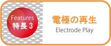 電極の再生